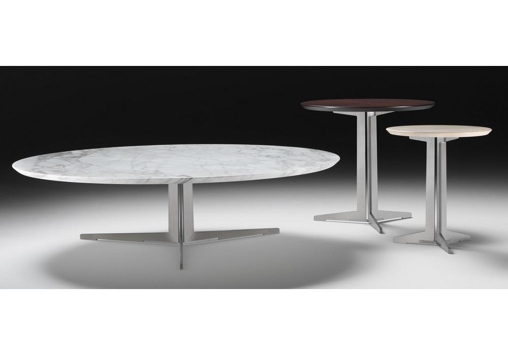 fly table basse ronde flexform milia shop. Black Bedroom Furniture Sets. Home Design Ideas