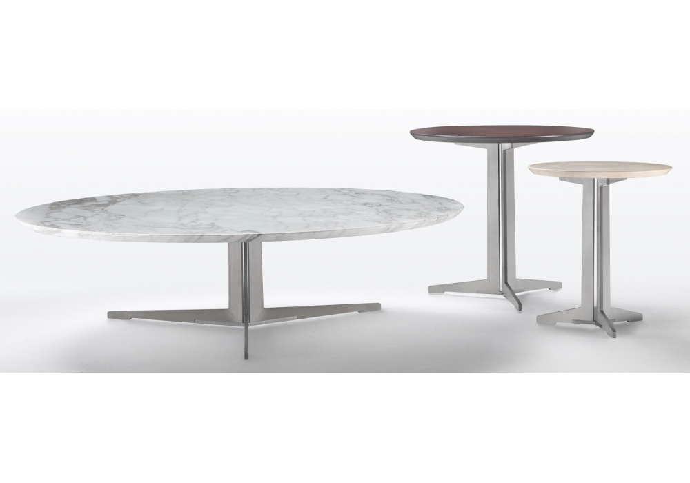 fly table basse ronde flexform milia shop