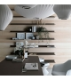 Eos Wall Shelves System Rimadesio