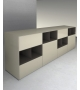 Self Sideboard With Open Compartments Rimadesio