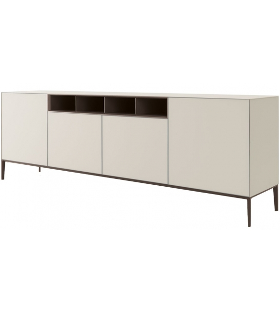 Self Up Sideboard With Open Compartments Rimadesio