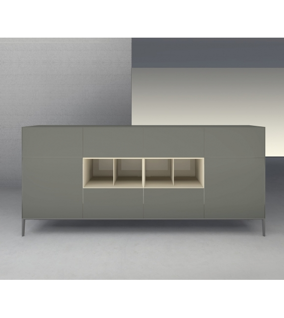 Self Up Sideboard With Open Modules Rimadesio
