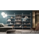 Wind Bookcase With Open Compartments Rimadesio