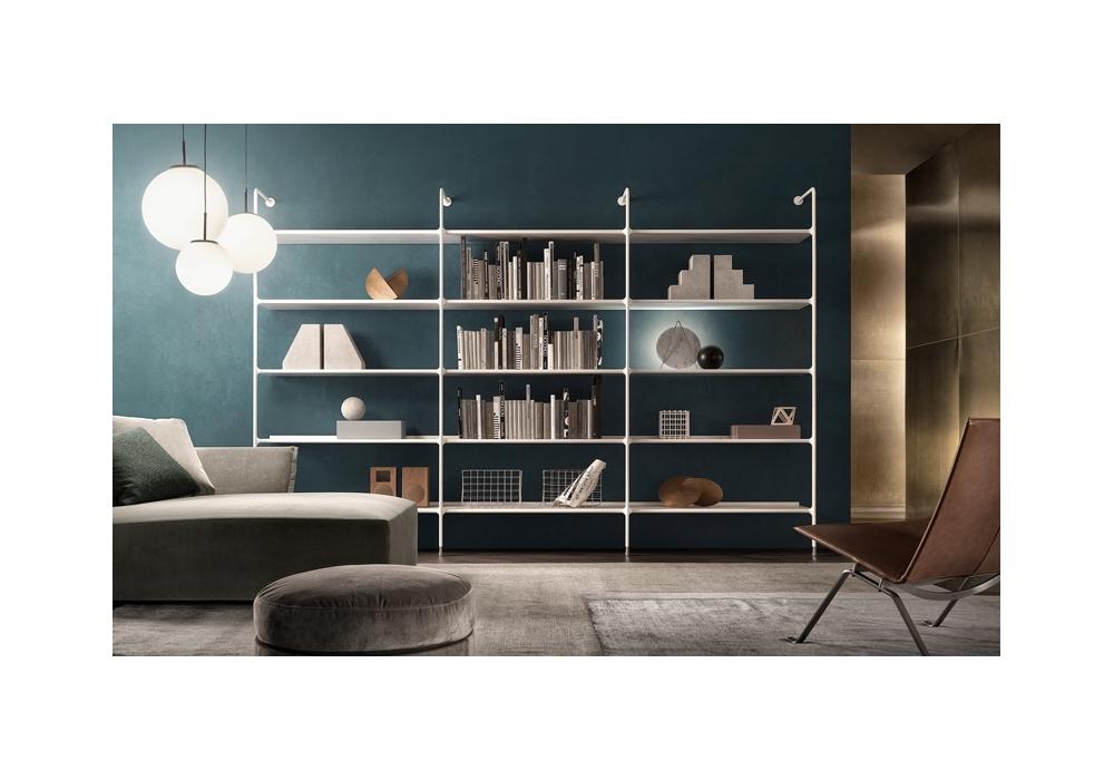 Wind Libreria Con Vani A Giorno Rimadesio - Milia Shop