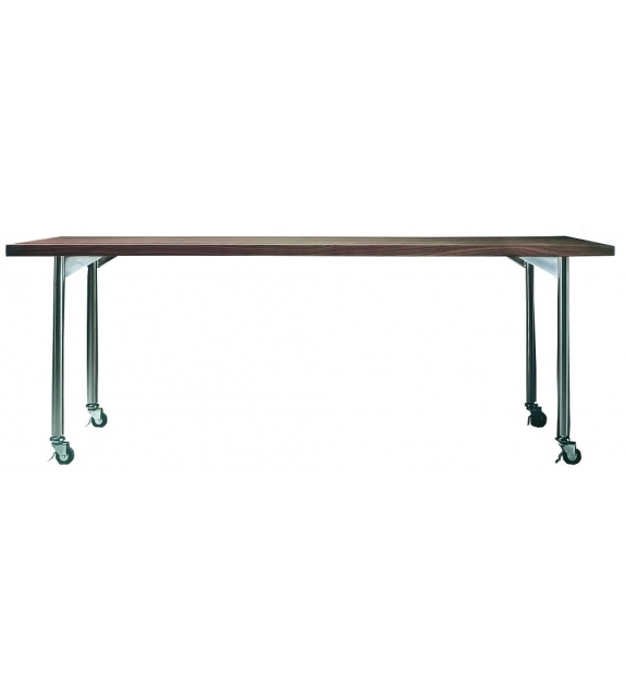 Mixer Rectangular Table With Castors Flexform