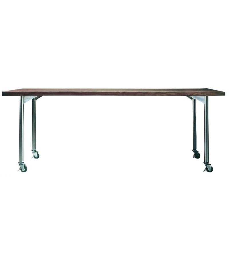 Mixer Table Rectangulaire Avec Roulettes Flexform