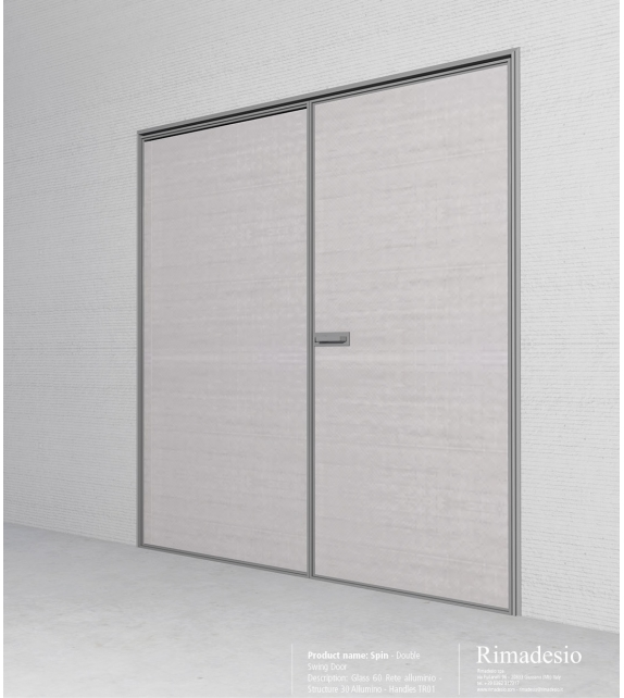 Spin Slim Swing Door Rimadesio