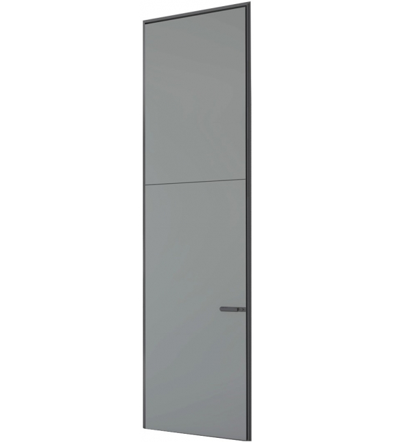 Link+ Slim Swing Door With Overhead Lights Rimadesio