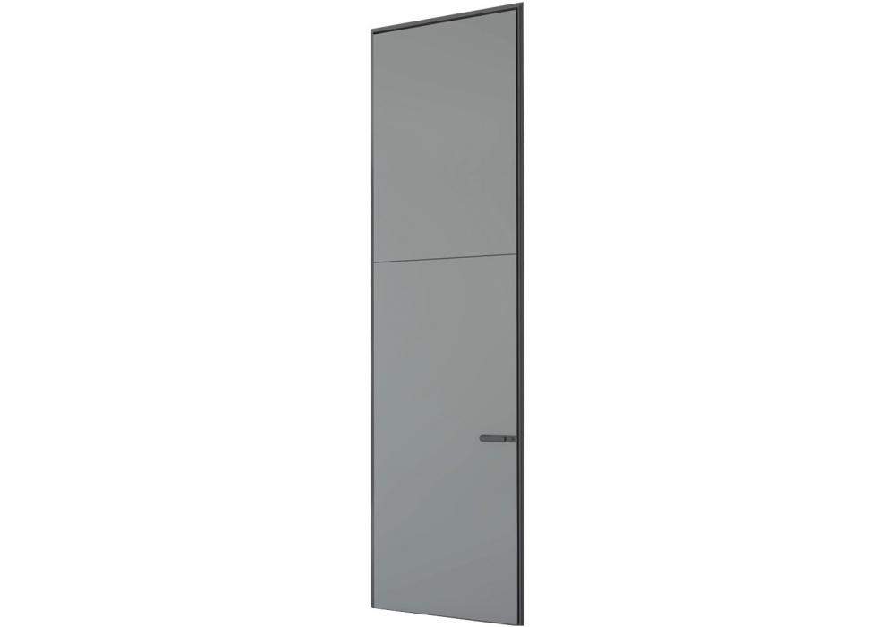 Link slim porta battente con sopraluce rimadesio milia shop - Sopraluce porta ...