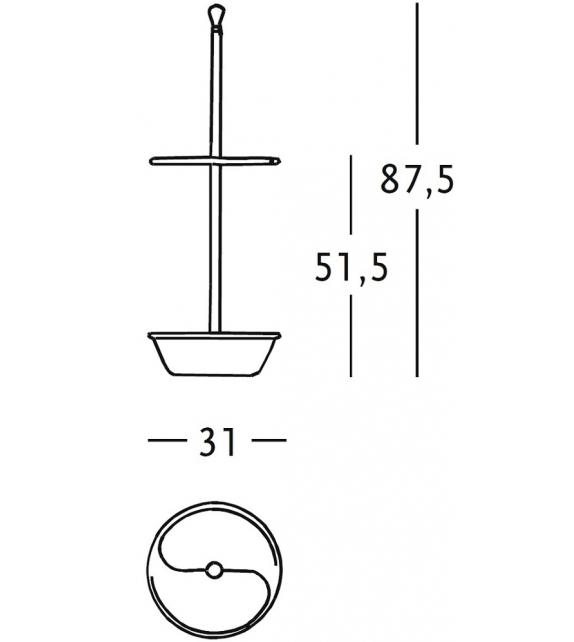 380 Servopluvio Zanotta Umbrella Stand
