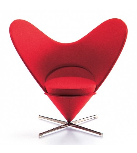 Miniature Heart-Shaped cone chair, Panton