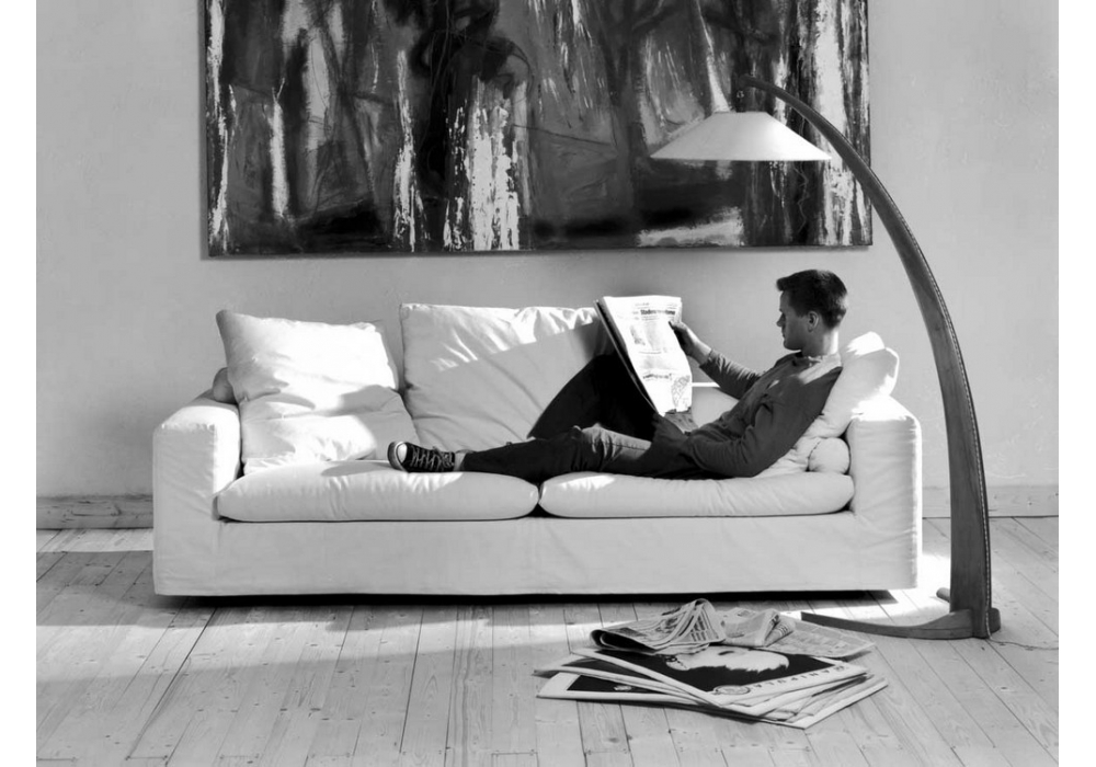 Gary divano letto flexform milia shop for Rivestimento divani flexform