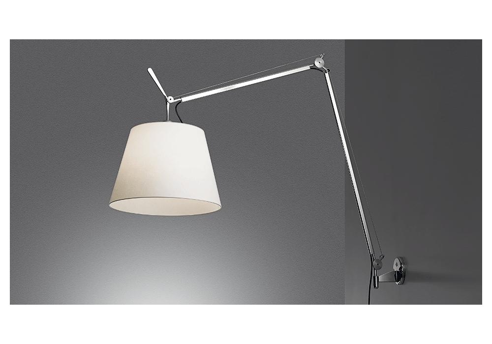 Tolomeo mega led lampada da parete artemide milia shop
