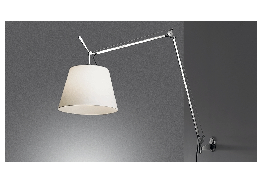 tolomeo mega led wall lamp artemide milia shop. Black Bedroom Furniture Sets. Home Design Ideas