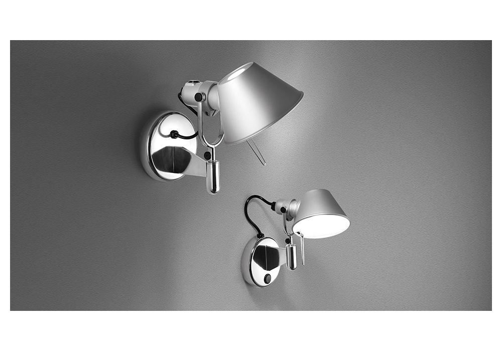 Tolomeo micro faretto lampada da parete artemide milia shop - Lampada parete artemide ...