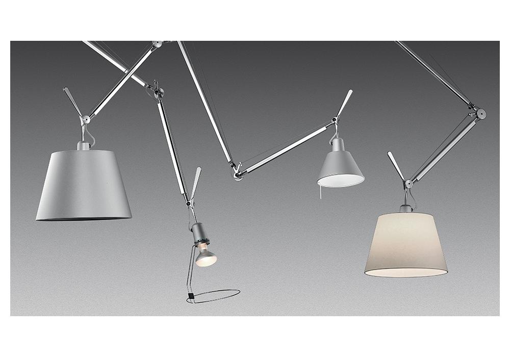 Tolomeo decentrata lampada a sospensione artemide milia shop for Sanitari a sospensione