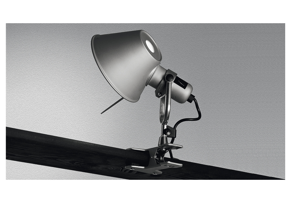 Tolomeo pinza lampada con pinza artemide milia shop - Lampada da tavolo con pinza ...