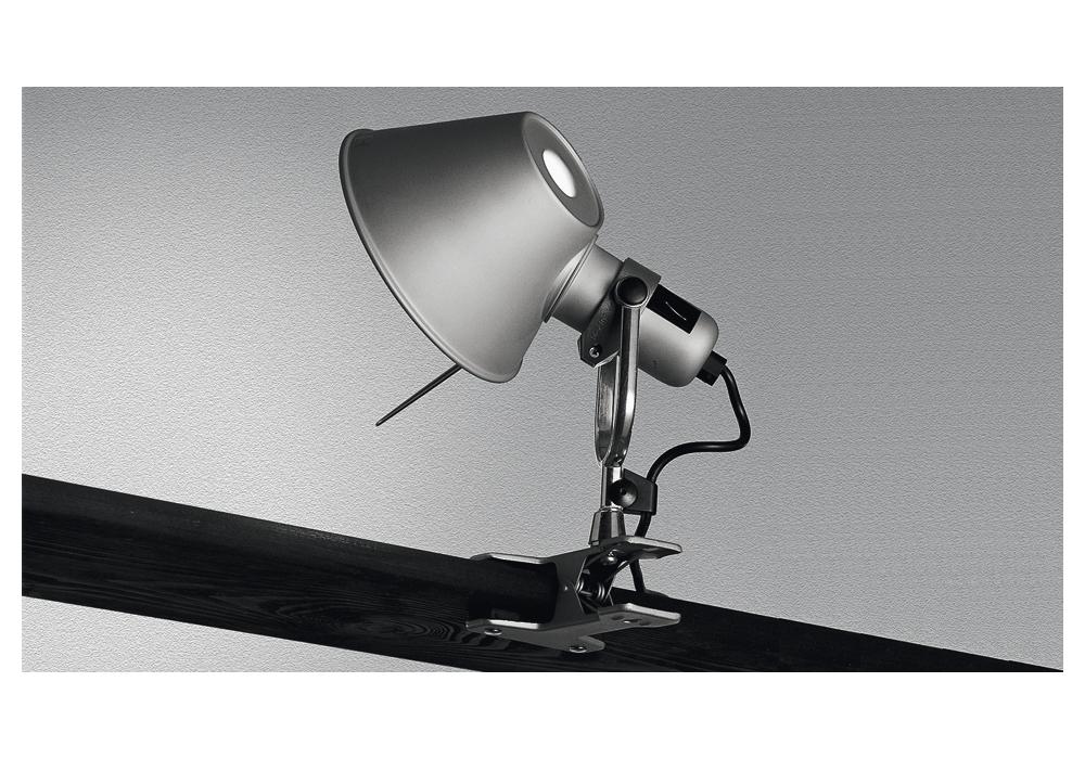 tolomeo micro pinza led lampe avec pince artemide milia shop. Black Bedroom Furniture Sets. Home Design Ideas