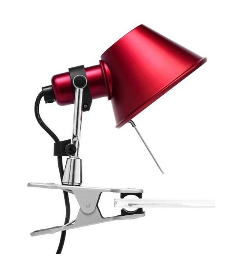 Tolomeo micro pinza lampada con pinza artemide milia shop - Lampada da tavolo con pinza ...