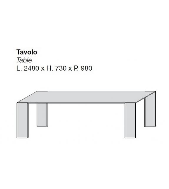 Metallico Tisch Porro