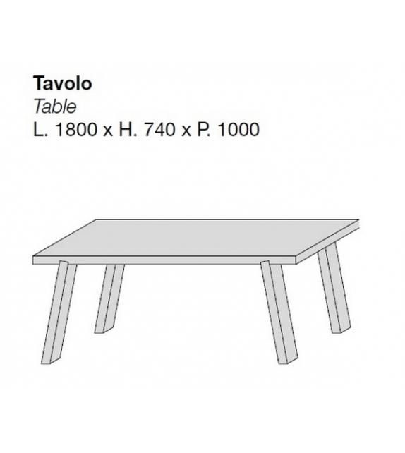 Minimo Light Porro Table