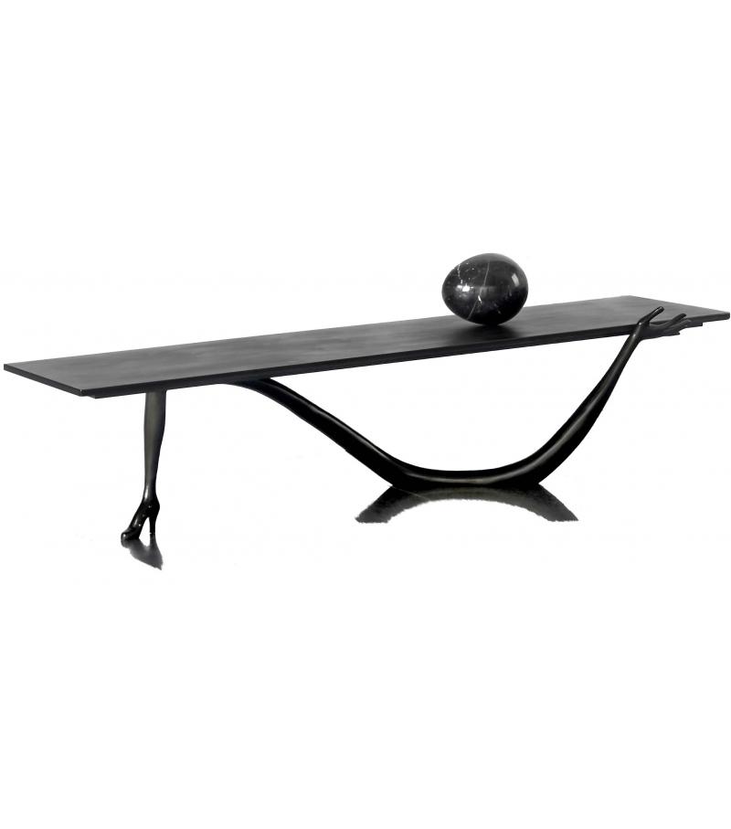 Leda Black Label Niedriger Tisch BD Barcelona Design