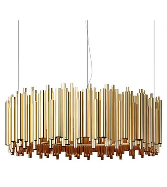 Brubeck Oval Pendant Lamp DelightFULL