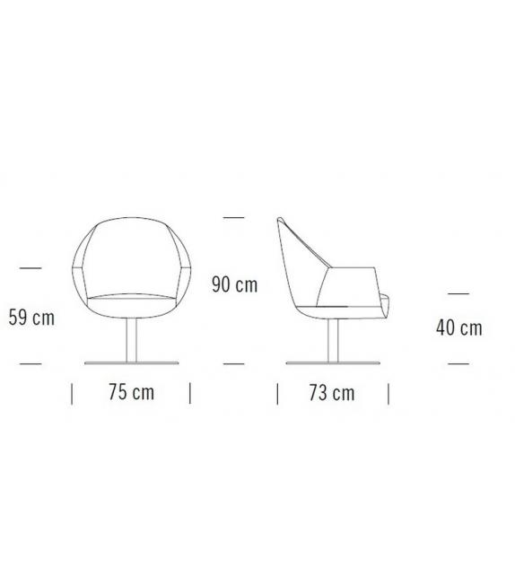 S 832 Thonet Armchair