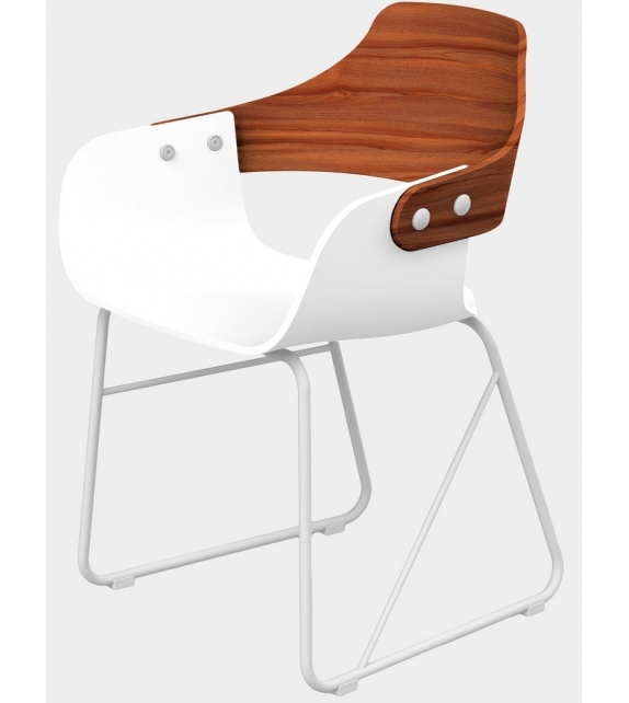 Jaime Hayon, Contemporary, Wood Chair Showtime Nude by BD