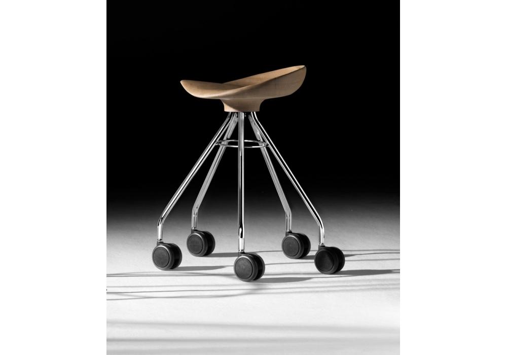 Jamaica sgabello con ruote bd barcelona design milia shop
