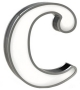 Graphic Collection ‐ Letter C LED Lamp DelightFULL