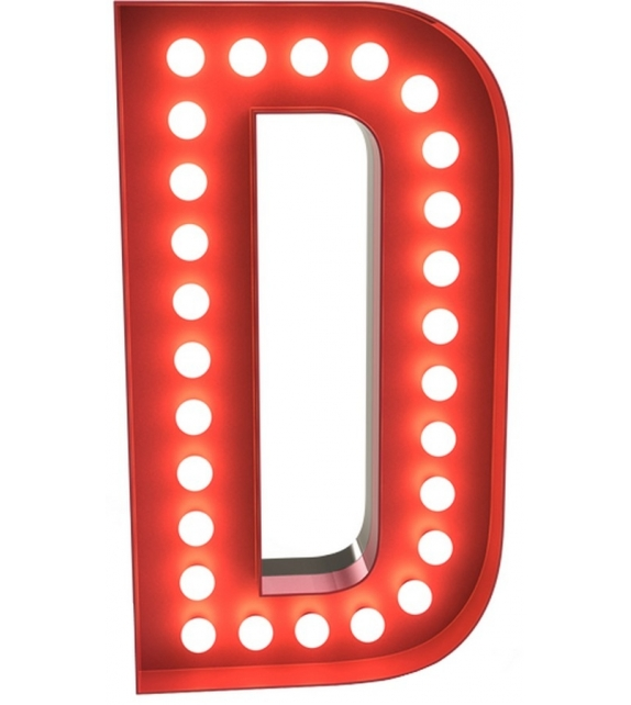 Graphic Collection ‐ Letter D Lampada DelightFULL