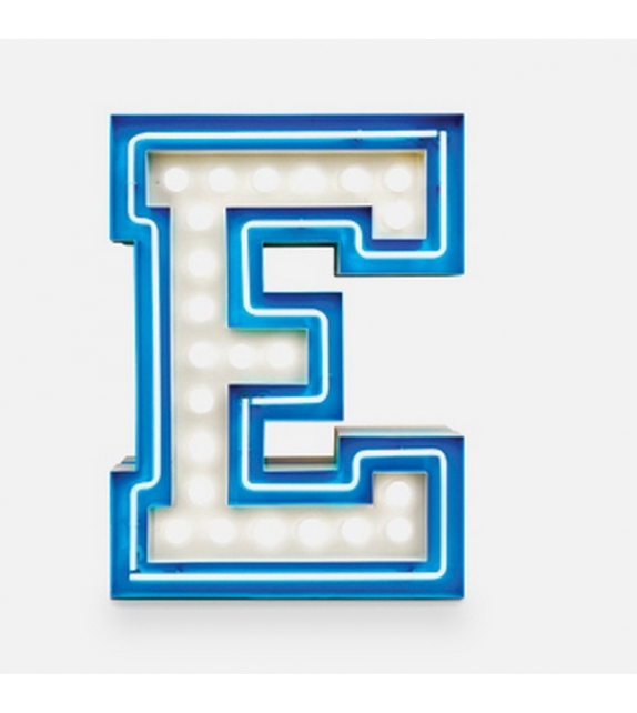 Graphic Collection ‐ Letter E Lámpara DelightFULL