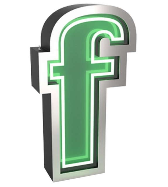 Graphic Collection ‐ Letter F Neon DelightFULL