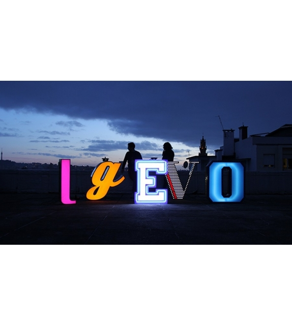 Graphic Collection ‐ Letter G Lampada a LED DelightFULL