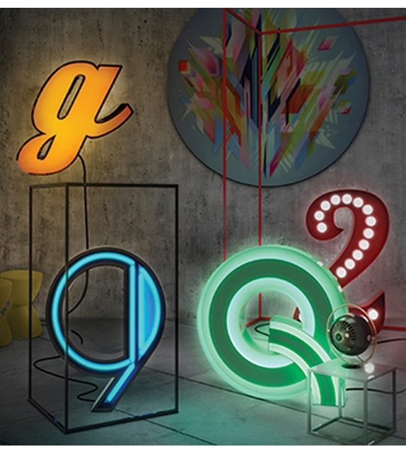 Graphic Collection ‐ Letter G Lampe à LED DelightFULL