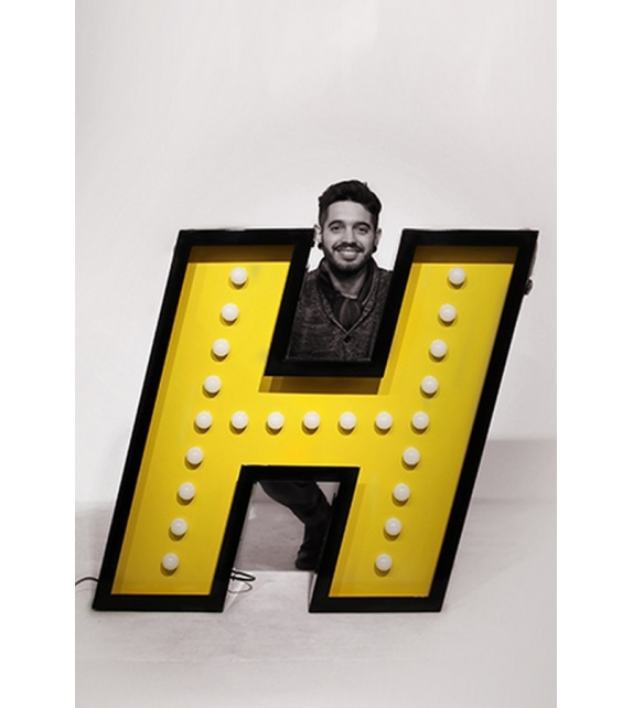 Graphic Collection ‐ Letter H Lampada DelightFULL