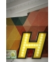 Graphic Collection ‐ Letter H Lampe DelightFULL