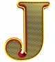 Graphic Collection ‐ Letter J Lampe DelightFULL