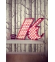 Graphic Collection ‐ Letter K Lampe DelightFULL