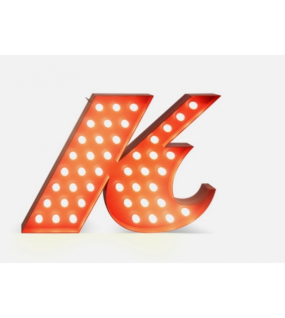 Graphic Collection ‐ Letter K Lamp DelightFULL