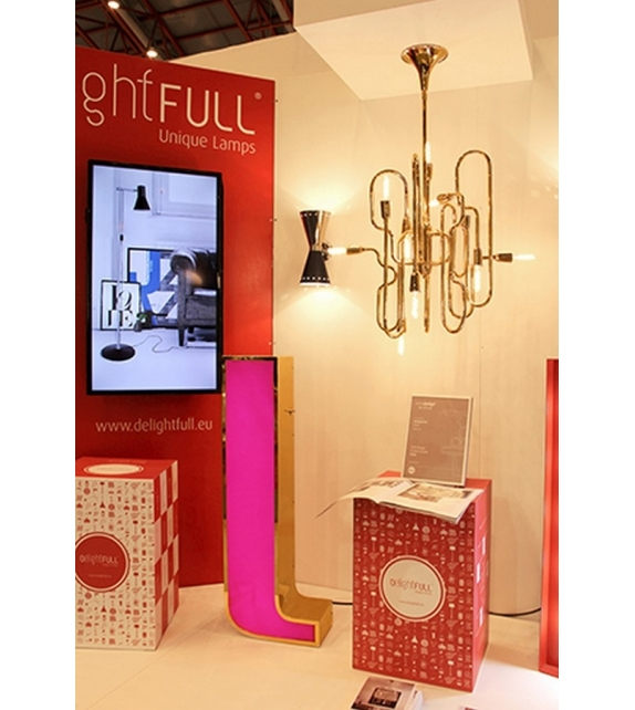 Graphic Collection ‐ Letter L LED Lamp DelightFULL