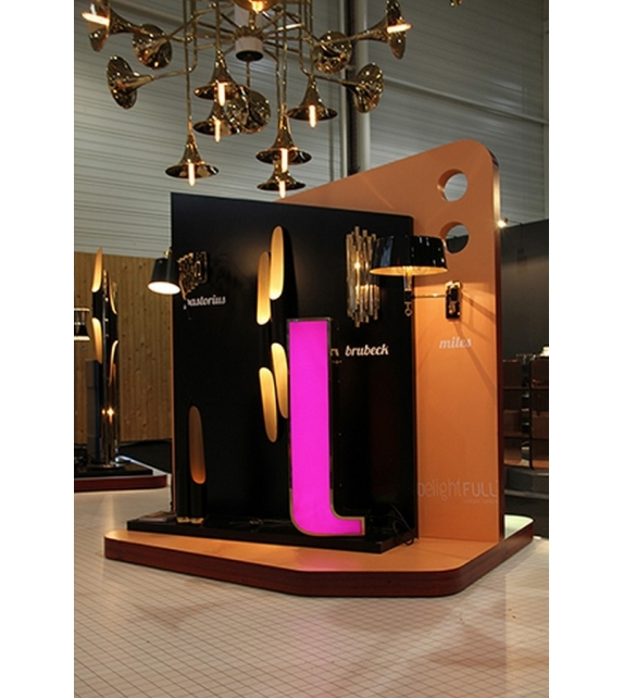 Graphic Collection ‐ Letter L Lámpara LED DelightFULL