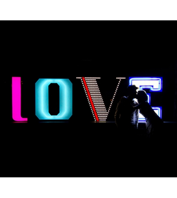 Graphic Collection ‐ Letter L Lampada a LED DelightFULL