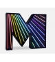 Graphic Collection ‐ Letter M Neon DelightFULL