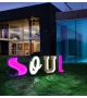 Graphic Collection ‐ Letter O LED Lamp DelightFULL