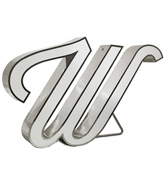 Graphic Collection ‐ Letter W Lámpara LED DelightFULL