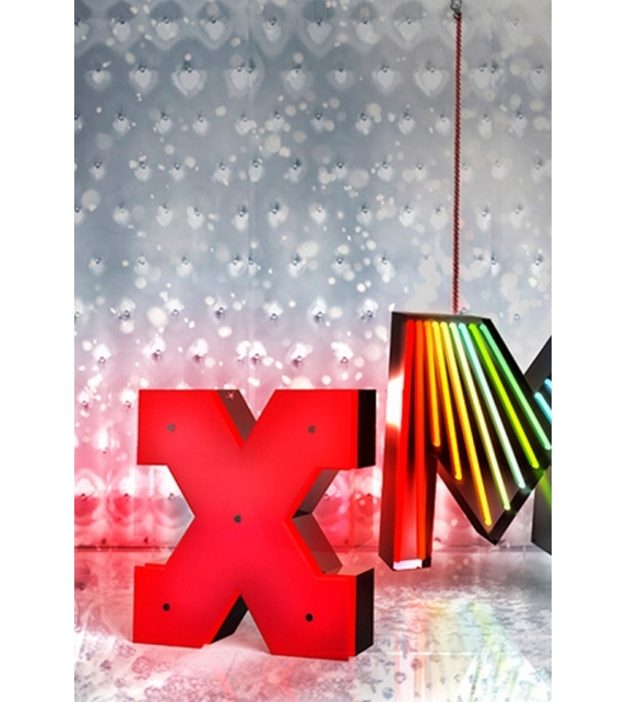 Graphic Collection ‐ Letter X Neon DelightFULL