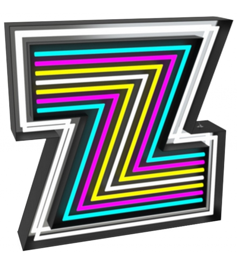 Graphic Collection ‐ Letter Z Neon DelightFULL