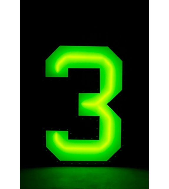 Graphic Collection ‐ Number 3 Neon DelightFULL